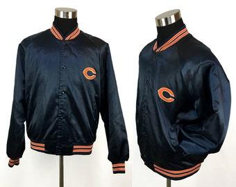 youth chicago bears bomber jacket