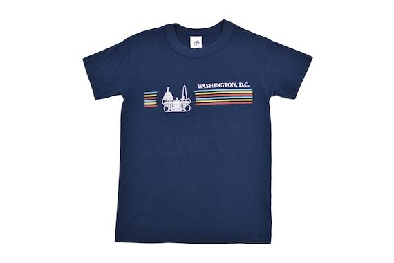 Vintage 80s Washington DC T-Shirt EXTRA SMALL / Yo