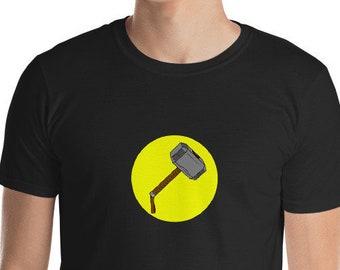 Thor / Captain Hammer Mash Up Funny T-shirt – Super Hero Shirt