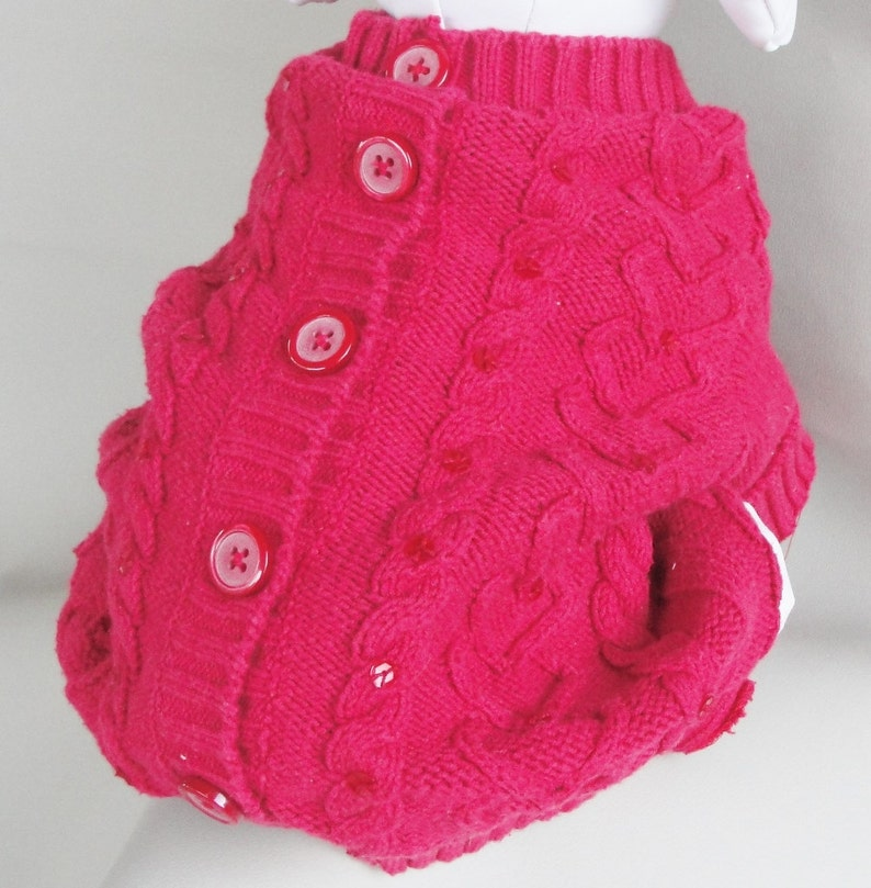 Chihuahua Sweater Pet Sweater Dog Sweater Red Pet Sweater Yorkie Clothes Poodle Sweater Soft Small Dog Sweater