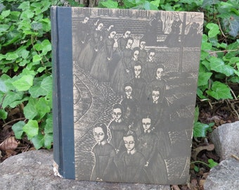 1943 Jane Eyre Charlotte Bronte with Wood Engravings by Fritz Eichenberg