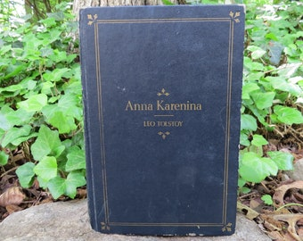 1944 Anna Karenina Leo Tolstoy Illustrated 1st edition
