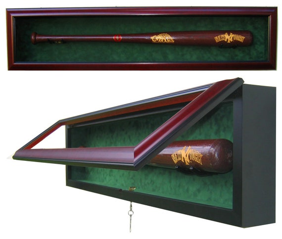1 Bat Display Case with UV protective glass
