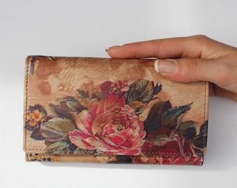 Madamzel Summer Garden Floral Leather