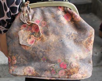 Evanna Clutch Clip Bag With Floor Floral 21 Print