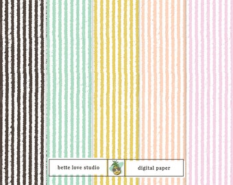 Seersucker Print, Seersucker Pattern, Digital Paper, Digital Pattern, Baby Shower Pattern, Digital Prints, Seamless Pattern, Vector Pattern