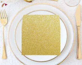 Envelope Liners, Gold Glitter, Wedding Invitation Envelope Liner, Wedding Envelope Liner, Envelope Liner, Golden Anniversary, Liners