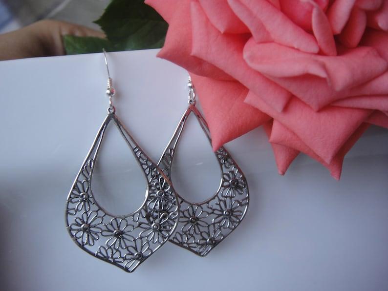 925 sterling silver teardrop earrings silver drop earrings,earrings jewelry oval earrings,teardrop earrings large drop earrings