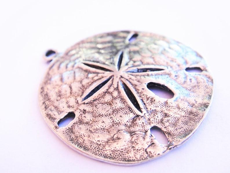 sand dollar silver sand dollar silver sea charms 925 sterling silver oxidized sand dollar beach charms