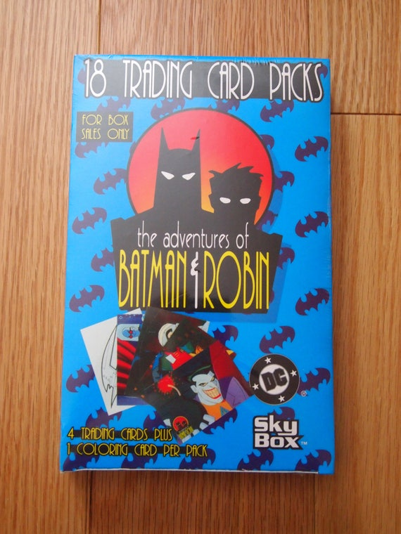 DC STARS by Skybox Trading Cards 5 Full Boxes 18 Packs