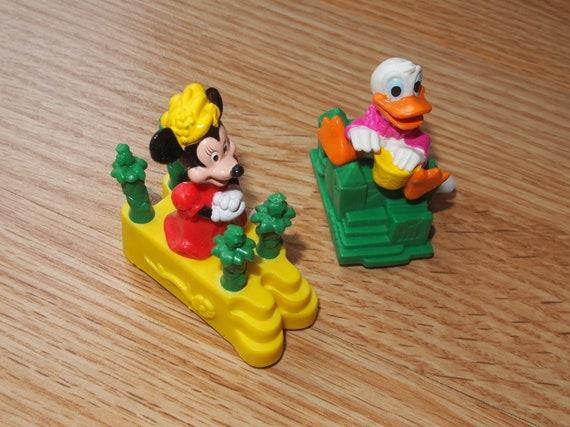 Vintage Burger King Kids Club Happy Meal Disney Wind Up Racers | Etsy