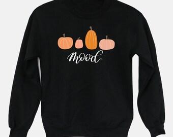 Pumpkin Sweatshirt, Fall Sweatshirt, Pumpkin Apparel, UNISEX sweatshirt, Fall Mood, Cute Pumpkins, Halloween Sweatshirt,