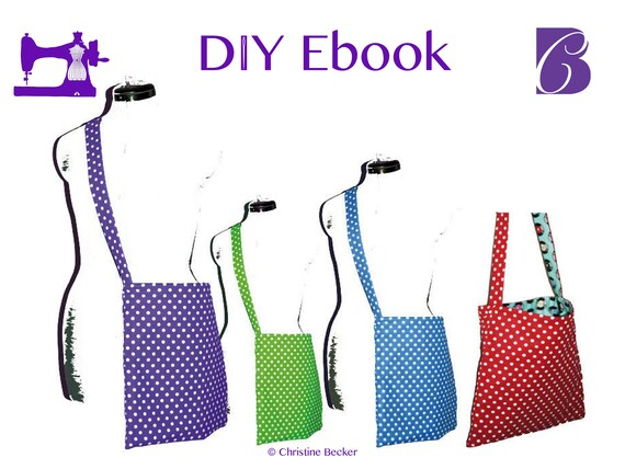 PDF Ebook Tutorial and Pattern Reversible Bag Anne