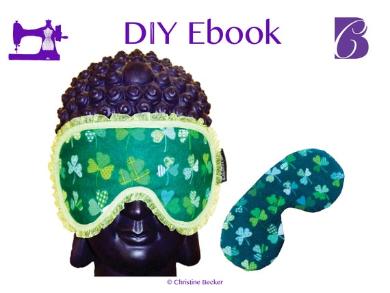 Ebook PDF Pattern and Tutorial Eye Mask