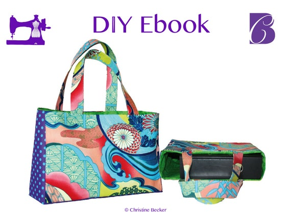 PDF Ebook Tutorial and Pattern Bag Eva, Shopper