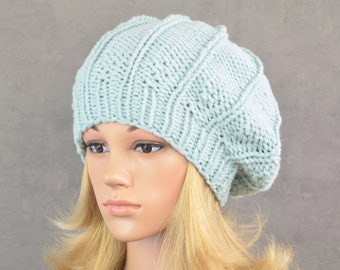 summer hat round shape  for her light knitted hat burnt orange head circumference from 22 to 23.5 knitted in diagonal hole pattern