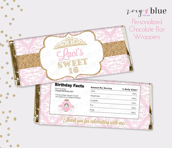 photograph relating to Free Printable Birthday Candy Bar Wrappers identify absolutely free printable customized sweet bar wrappers - Sinma