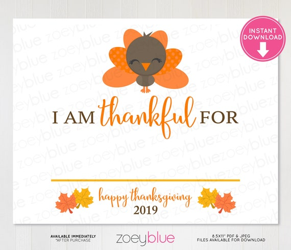picture regarding Thanksgiving Craft Printable called Grateful Indication 2019 - Thanksgiving Picture Booth Prop