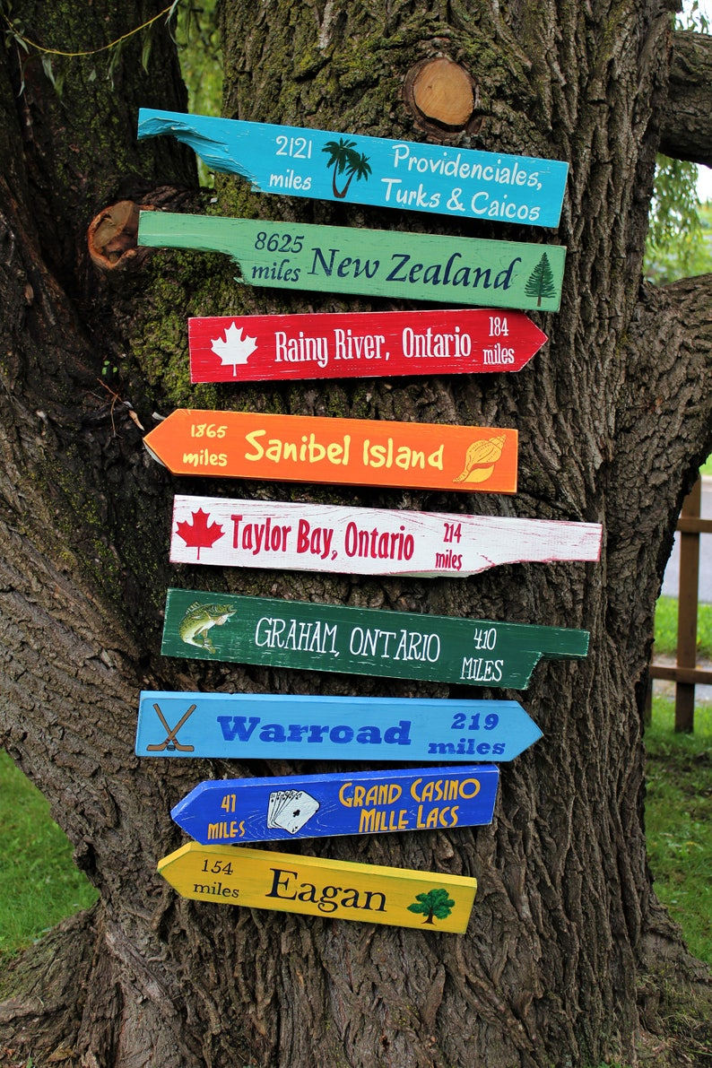 Directional Signs Etsy