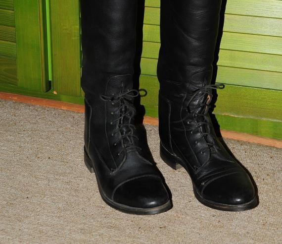 Vintage Equestrian Effingham Leather Riding Boots