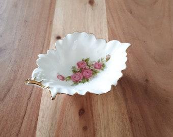 Kleine Porzellan Schale Country Garden, small Bowl Porcellain, Vintage Schälchen Rosen, Roses Porzellanschale Bowls