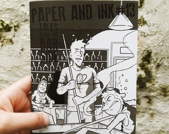 Issue 13: Paper and Ink Literary Zine 'Tales From The Barside'