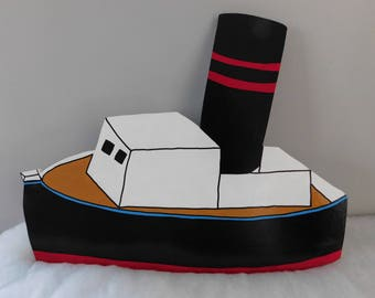 Boat from the Island of Misfit Toys