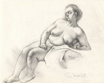 Art erotic pencil