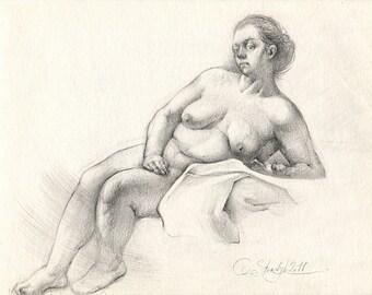 Art erotic pencil