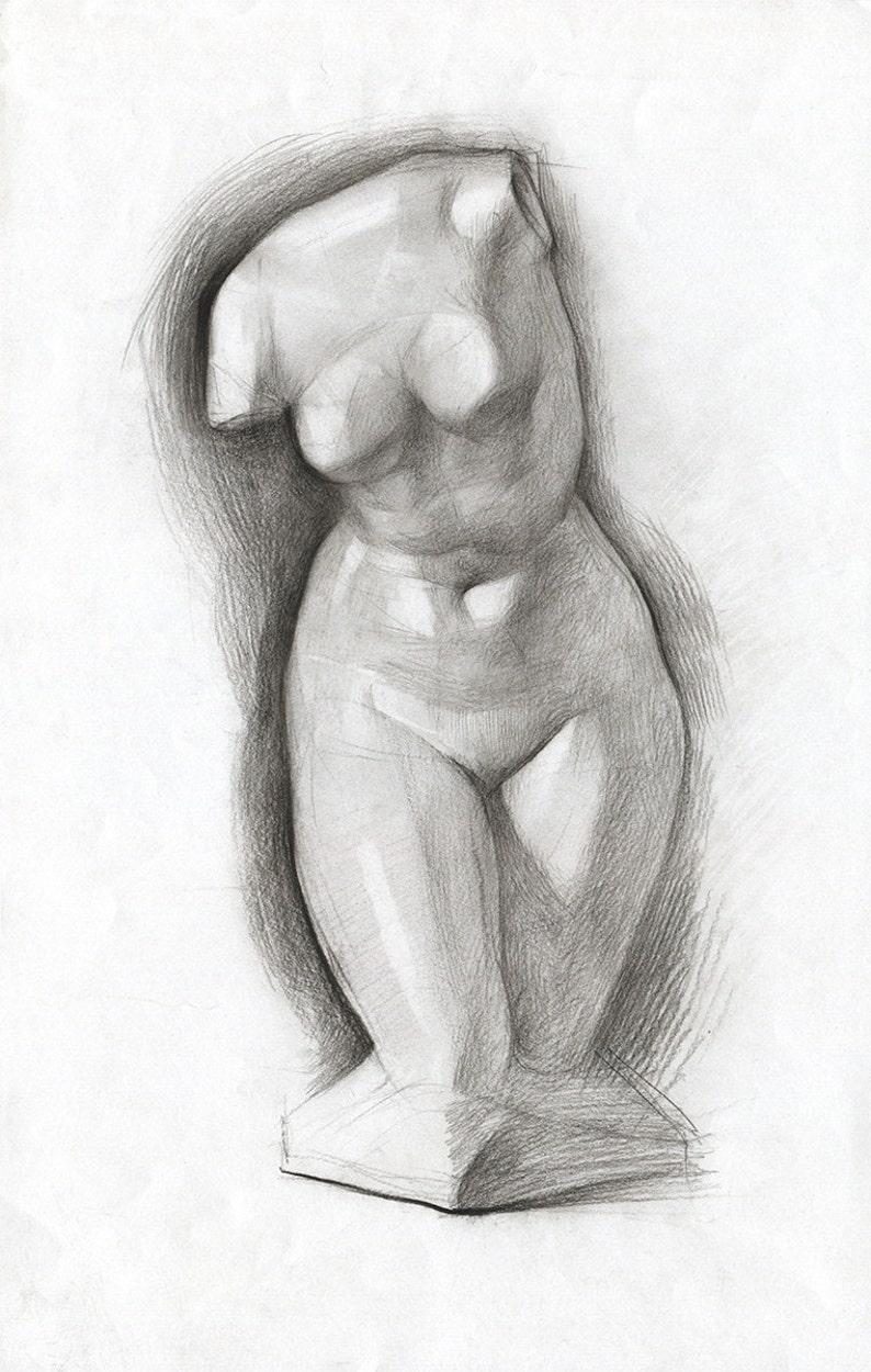 Erotic pencil sketches