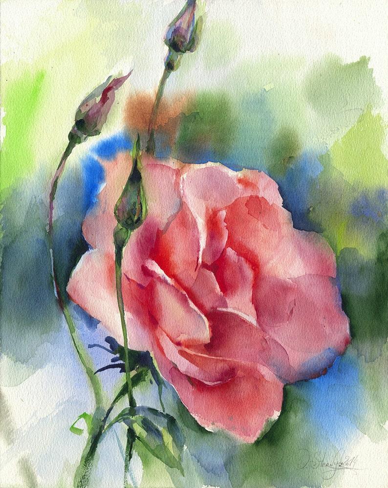 рисуем цветы акварелью картинки всего, через год
