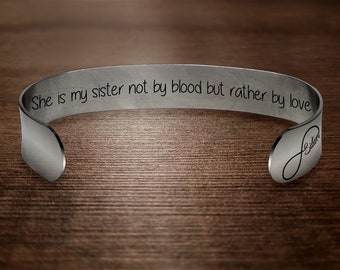 Seiraa Best Friend Gift Sister In Law Bracelet Not Sister By Blood