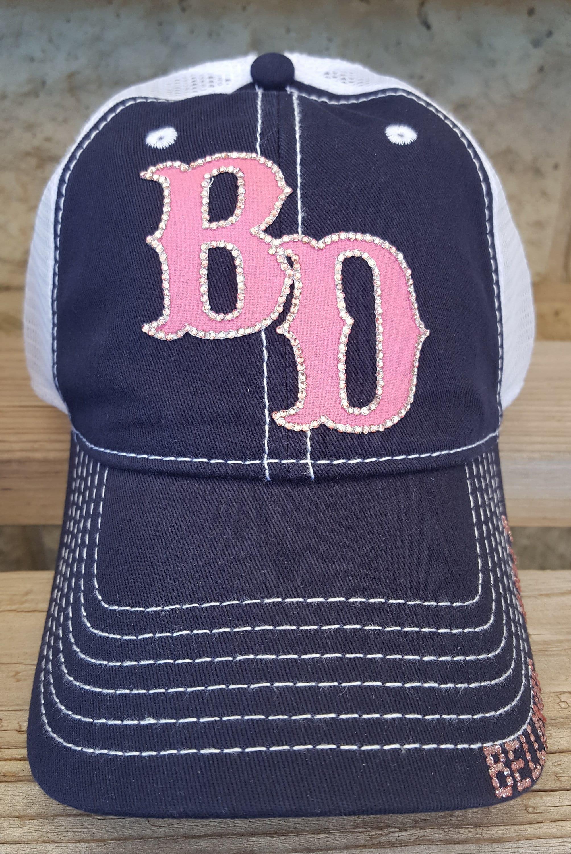 a23e25f349428 Custom Logo or Team name hats Initial Hats Baseball Mom Hats