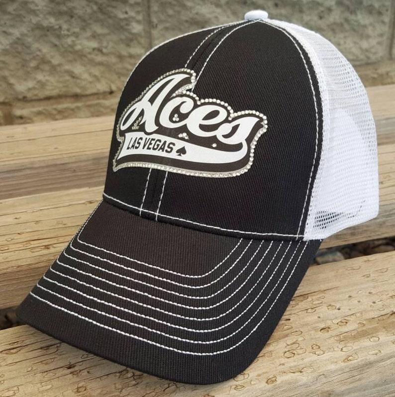 2f209254565f7 Baseball Mom Hat Baseball Team Hat Custom Aces Logo Team Hat