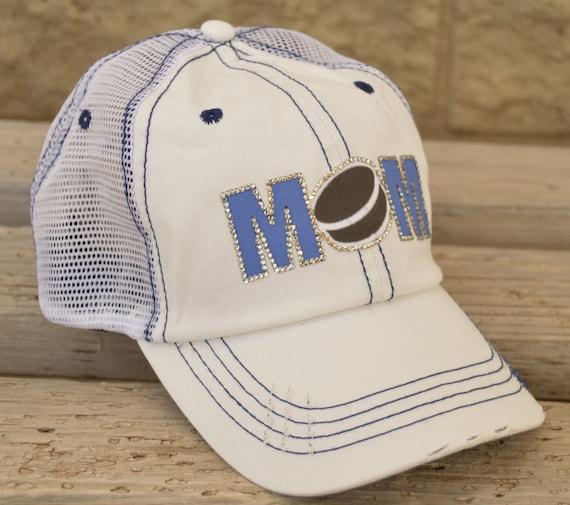 Hockey Mom Hat Bling Hockey Mom Hat Custom Hockey Hats  e10170f20f4