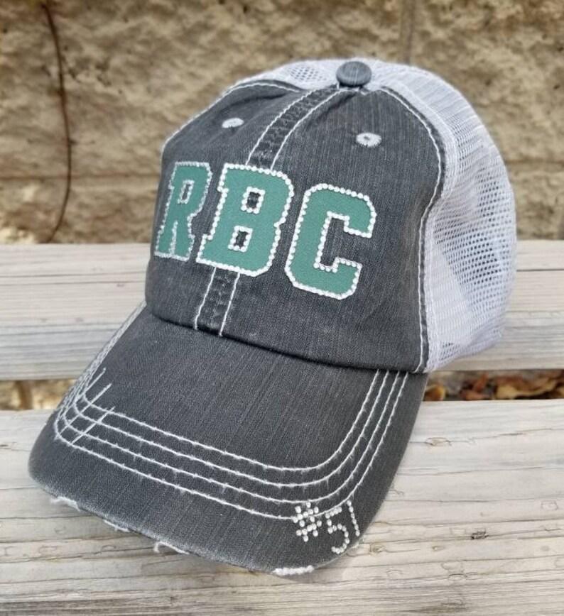 495f8bda199ee Football Mom Hats Football Team Hats School Team Hats Bling