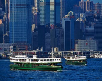 Star Ferry - Hong Kong - Fine Art - Wall Art - Inquire about Size & Frame Options