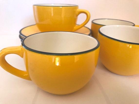 2PC muñeca casa miniatura tazas de té con leche comida bebida bebida Juguete Decoración Fo