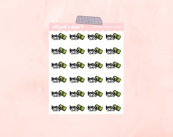 Pay Day Money Icons - Planner Stickers