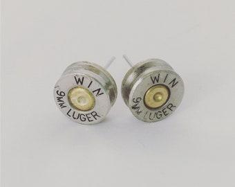 Countrygirl Bling Diamond Earrings Huntress Jewelry Bullet Jewelry Bullet Replica Bullet Earrings