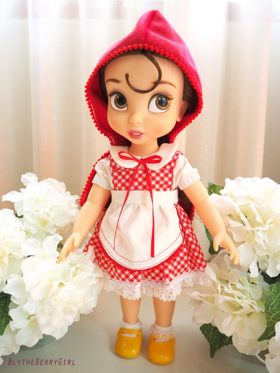Little Red Riding Hood dress outfit for Disney Animators doll