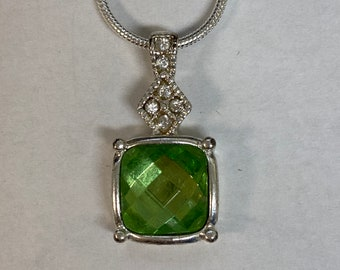 Gorgeous Peridot stone pendant