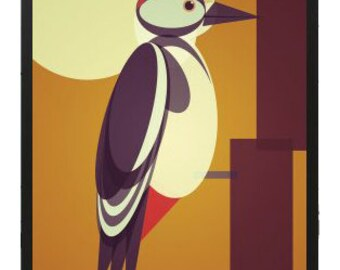 Woodpecker Print