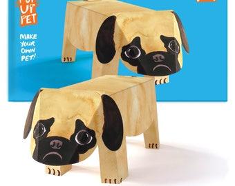 Pop Up Pet Dog - Pug