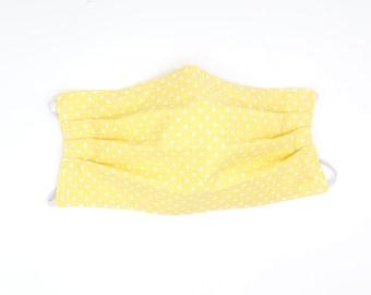 Face Mask Yellow Spot