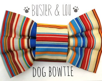 Dog Bow Tie - Tommy stripe