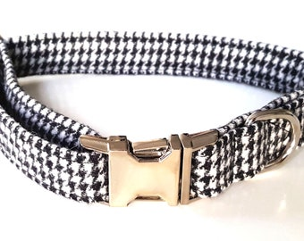 Black and White Dogtooth / Houndstooth