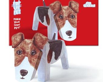 Pop Up Pet Dog - Fox Terrier