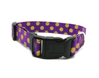 Purple and Gold Spot