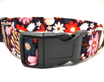Retro seventies floral babycord